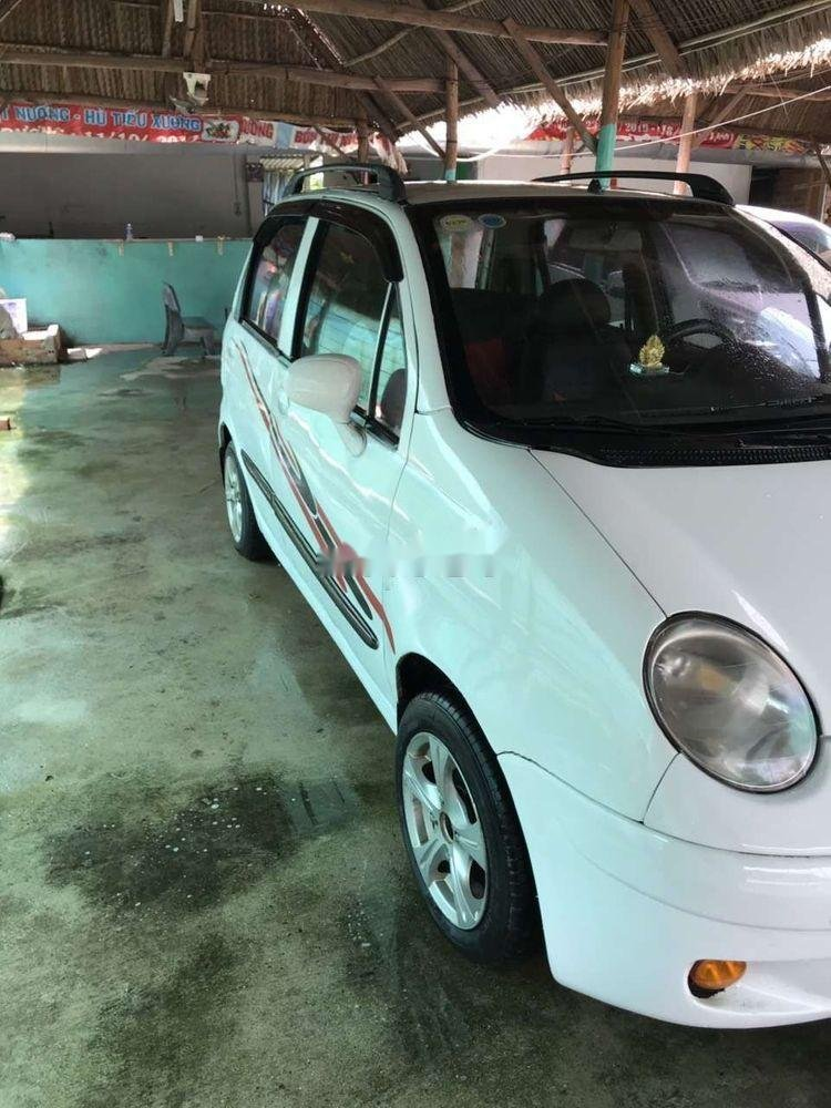 Cần bán gấp Daewoo Matiz sản xuất 2003, màu trắng xe gia đình, giá 59.5tr xe nguyên bản (1)