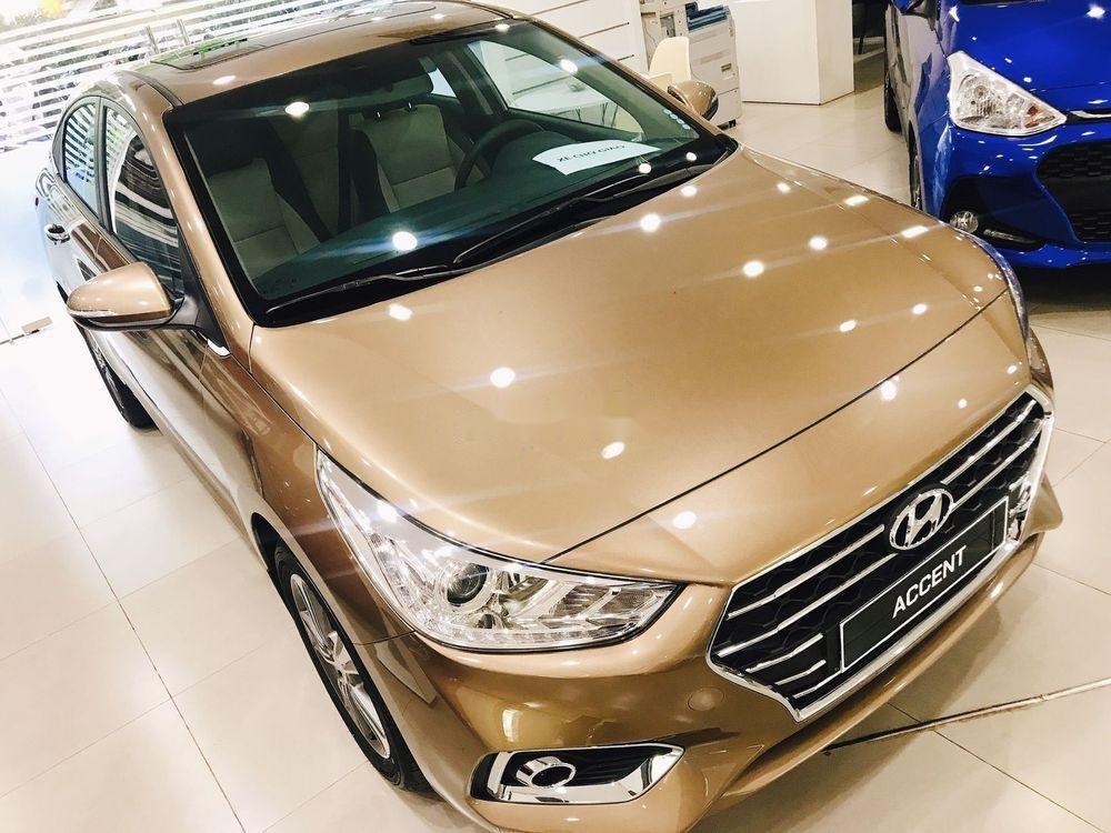 Bán Hyundai Accent sản xuất năm 2019, màu vàng, 425 triệu (1)