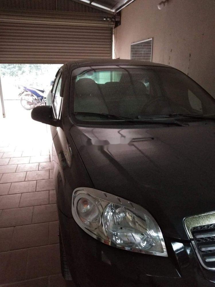 Bán ô tô Daewoo Gentra 2009, màu đen, nhập khẩu nguyên chiếc chính hãng (7)