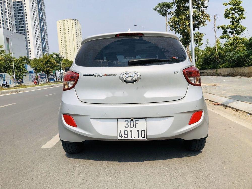 Bán Hyundai Grand i10 đời 2016, màu bạc, nhập khẩu, xe gia đình  (6)