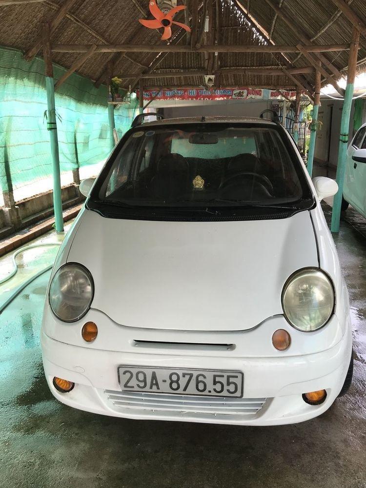 Bán xe Daewoo Matiz năm 2003, màu trắng xe gia đình, 59.5tr xe nguyên bản (1)