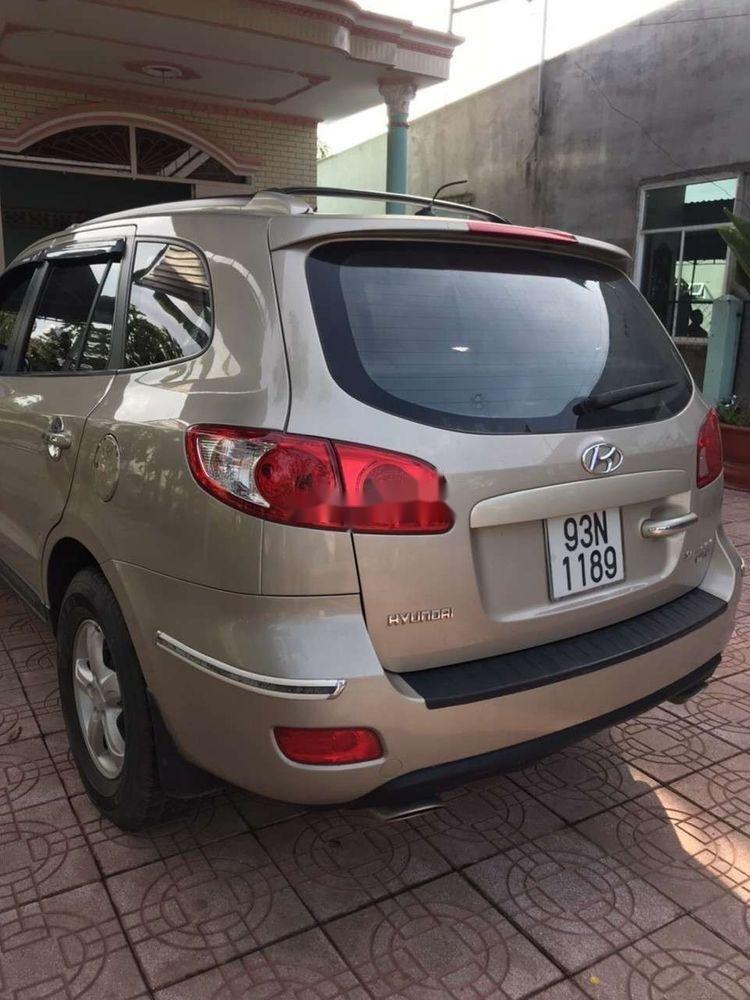 Bán Hyundai Santa Fe 2008, màu kem (be), nhập khẩu chính hãng (9)