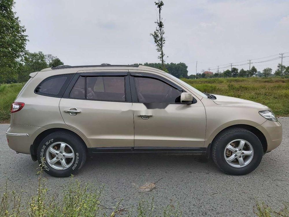Bán Hyundai Santa Fe 2008, màu kem (be), nhập khẩu chính hãng (6)