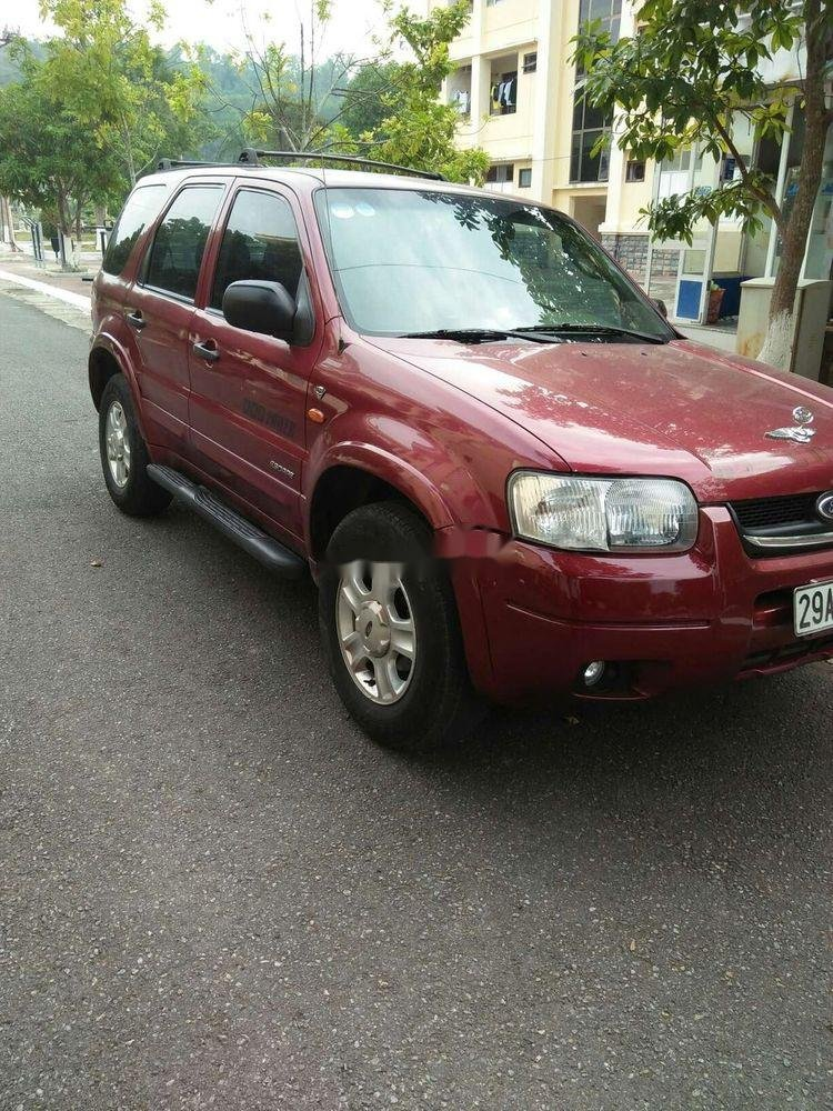 Bán Ford Escape đời 2002, màu đỏ, xe nhập chính hãng (1)