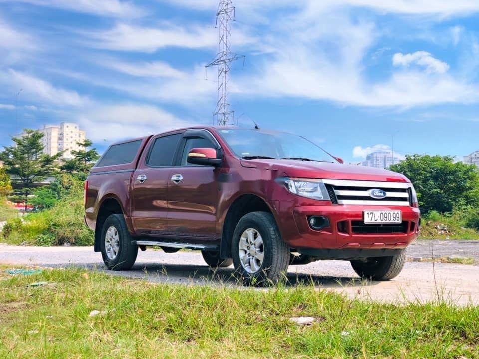 Bán Ford Ranger năm 2014, màu đỏ, nhập khẩu nguyên chiếc chính hãng (3)