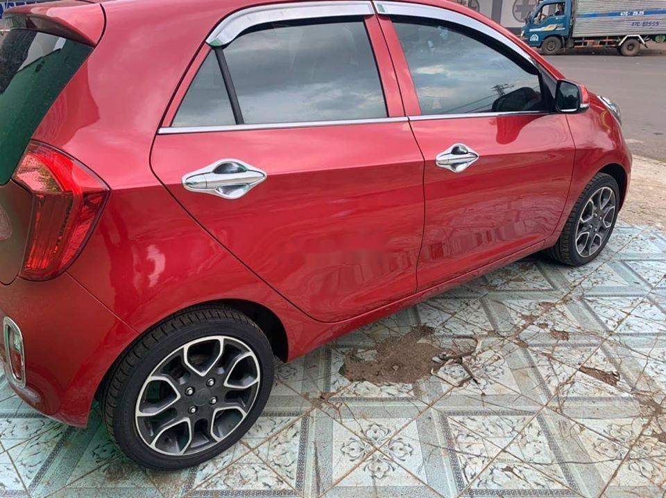 Bán ô tô Kia Morning sản xuất năm 2014, màu đỏ giá cạnh tranh, xe nguyên bản (5)