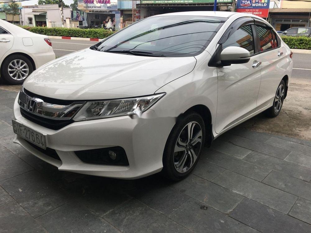 Bán Honda City đời 2015, màu trắng xe gia đình xe nguyên bản (2)