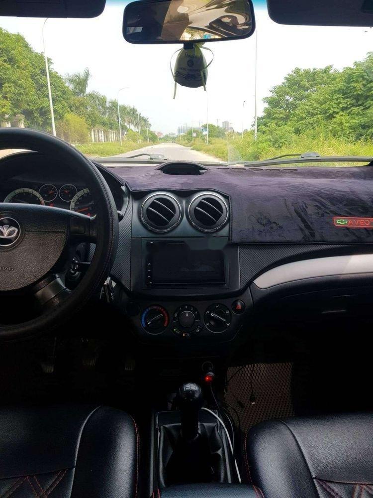 Bán Chevrolet Aveo sản xuất năm 2010, màu đen, xe nhập xe gia đình, 210tr xe nguyên bản (4)