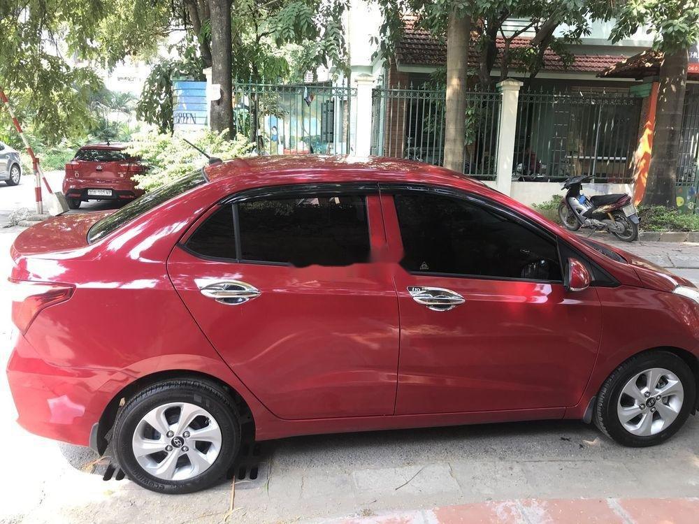 Bán ô tô Hyundai Grand i10 năm 2018, màu đỏ chính chủ xe nguyên bản (10)
