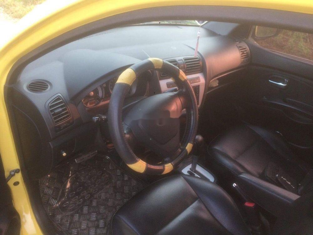 Bán ô tô Kia Morning năm sản xuất 2008, màu vàng, xe nhập chính hãng (8)