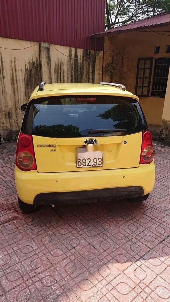 Bán ô tô Kia Morning năm sản xuất 2008, màu vàng, xe nhập chính hãng (6)