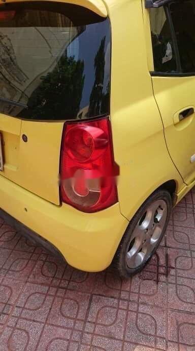 Bán ô tô Kia Morning năm sản xuất 2008, màu vàng, xe nhập chính hãng (5)