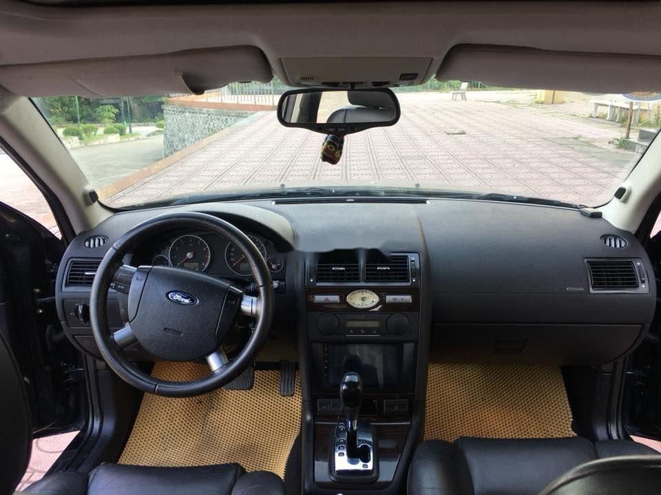 Bán Ford Mondeo đời 2004, màu đen xe nguyên bản (2)