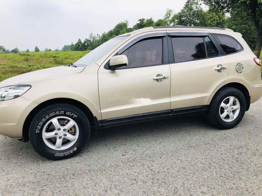 Bán Hyundai Santa Fe đời 2008, màu kem (be), nhập khẩu  (2)