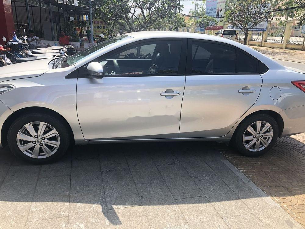 Bán Toyota Vios 2016, màu bạc số tự động, giá tốt (4)