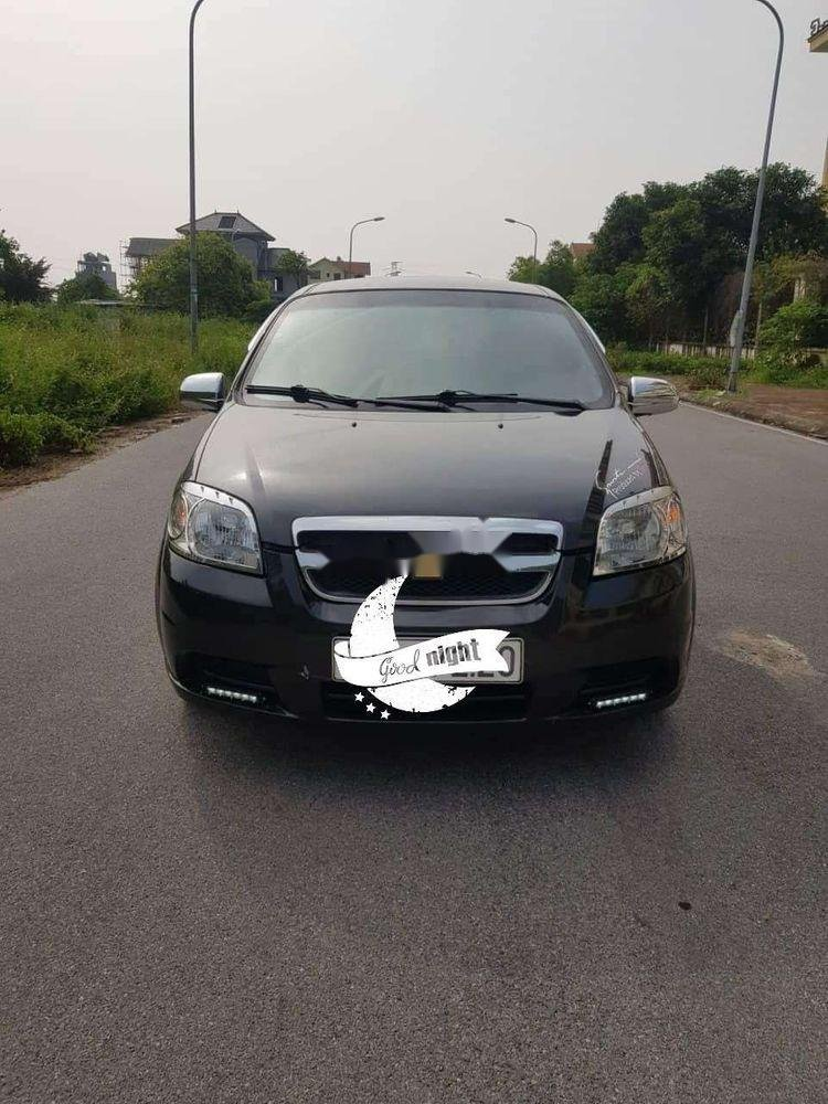 Bán Chevrolet Aveo sản xuất năm 2010, màu đen, xe nhập xe gia đình, 210tr xe nguyên bản (2)