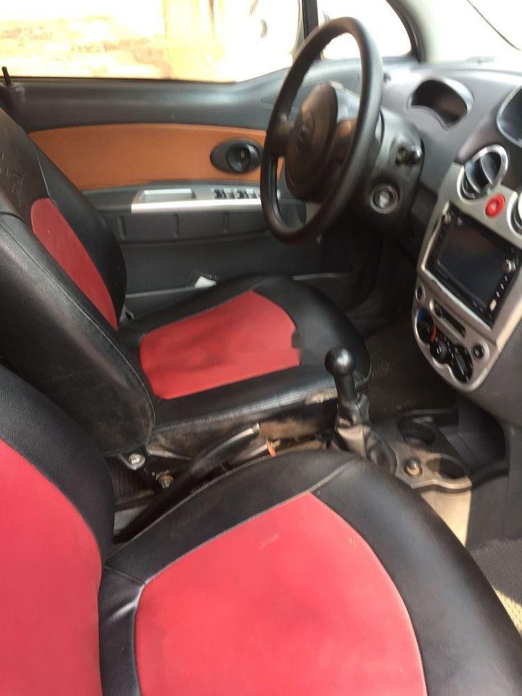 Cần bán lại xe Chevrolet Spark đời 2009, màu bạc xe nguyên bản (4)