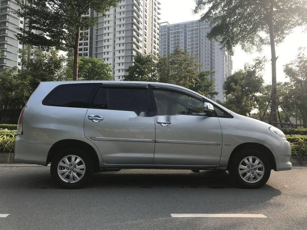 Bán Toyota Innova đời 2011, màu bạc xe nguyên bản 420tr (1)
