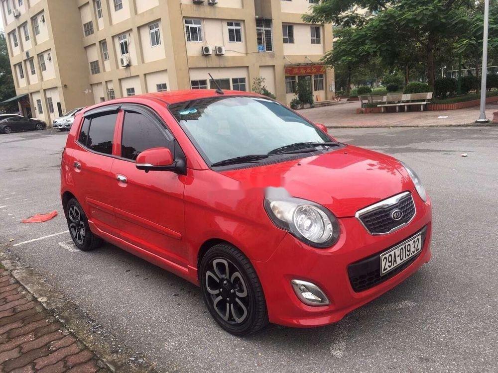 Cần bán lại xe Kia Morning AT sản xuất năm 2010, màu đỏ, nhập khẩu, giá tốt (6)