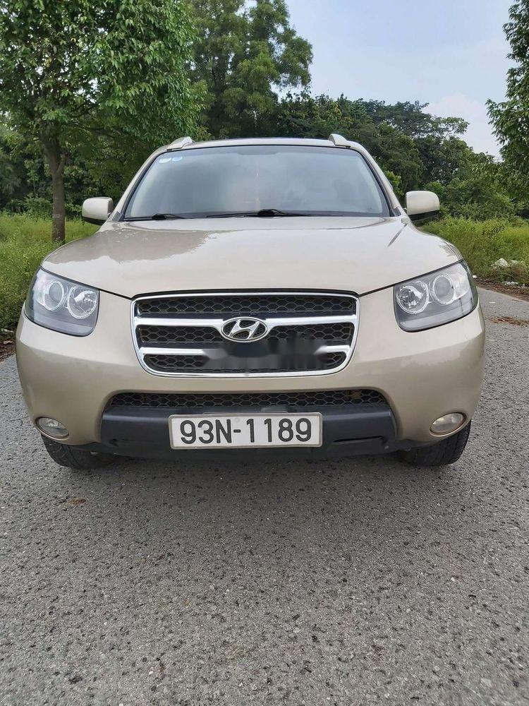 Bán Hyundai Santa Fe 2008, màu kem (be), nhập khẩu chính hãng (3)