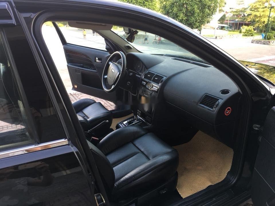 Bán Ford Mondeo đời 2004, màu đen xe nguyên bản (3)