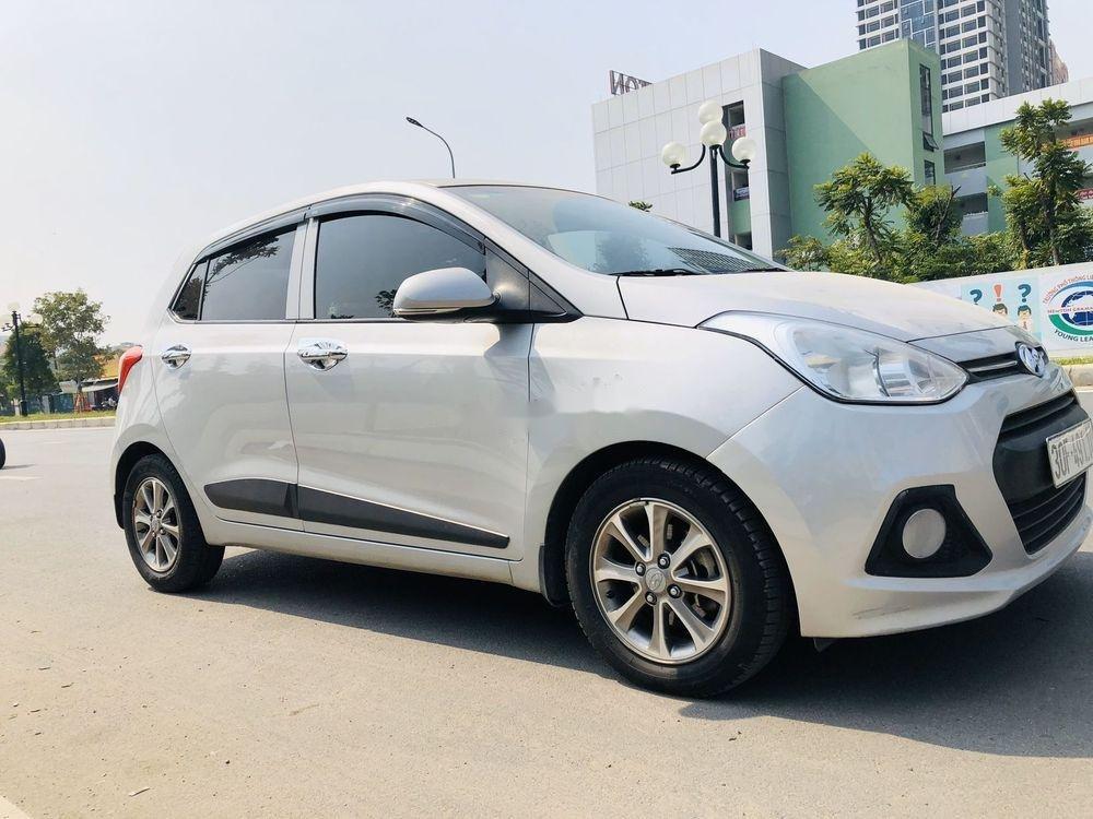 Bán Hyundai Grand i10 đời 2016, màu bạc, nhập khẩu, xe gia đình  (5)