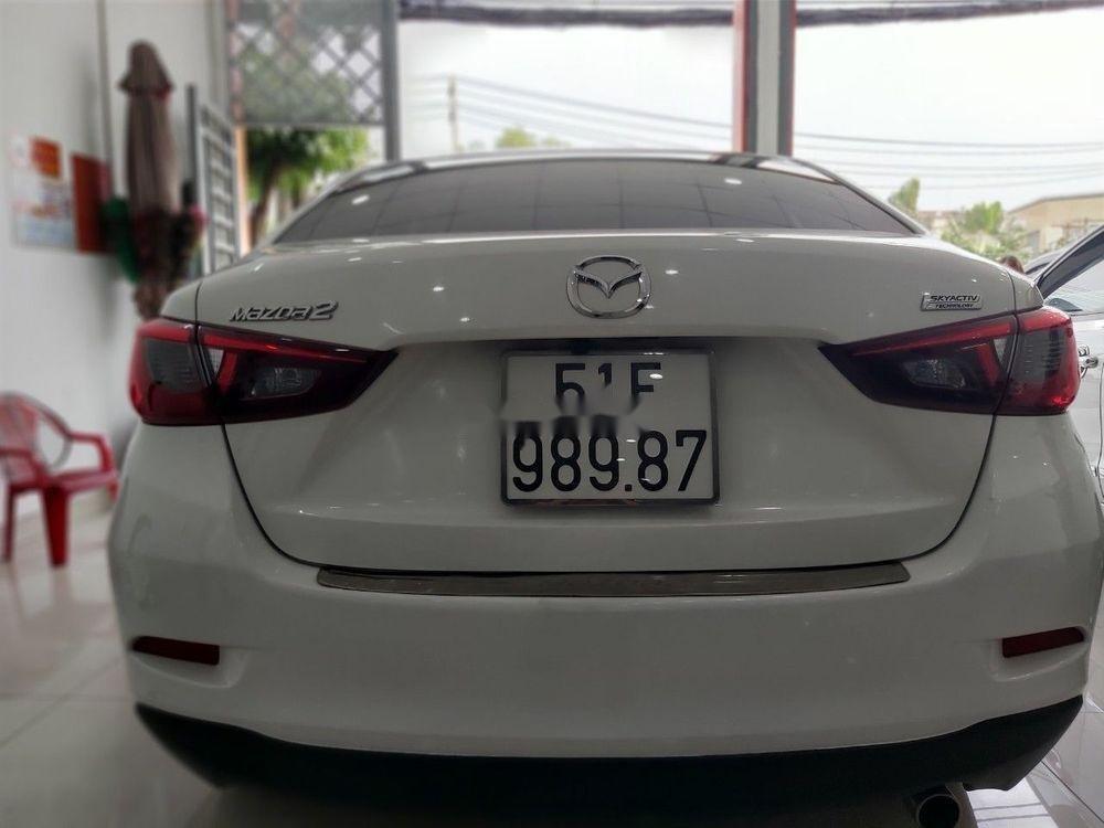 Cần bán gấp Mazda 2 sản xuất 2016, màu trắng chính chủ, giá 465tr xe nguyên bản (5)
