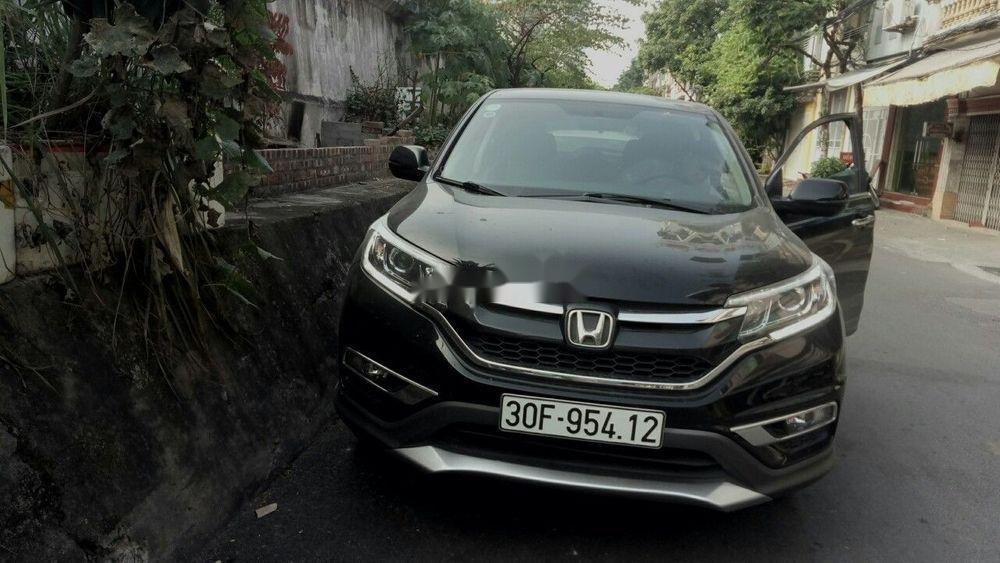 Bán Honda CR V năm sản xuất 2015, màu đen còn mới (1)