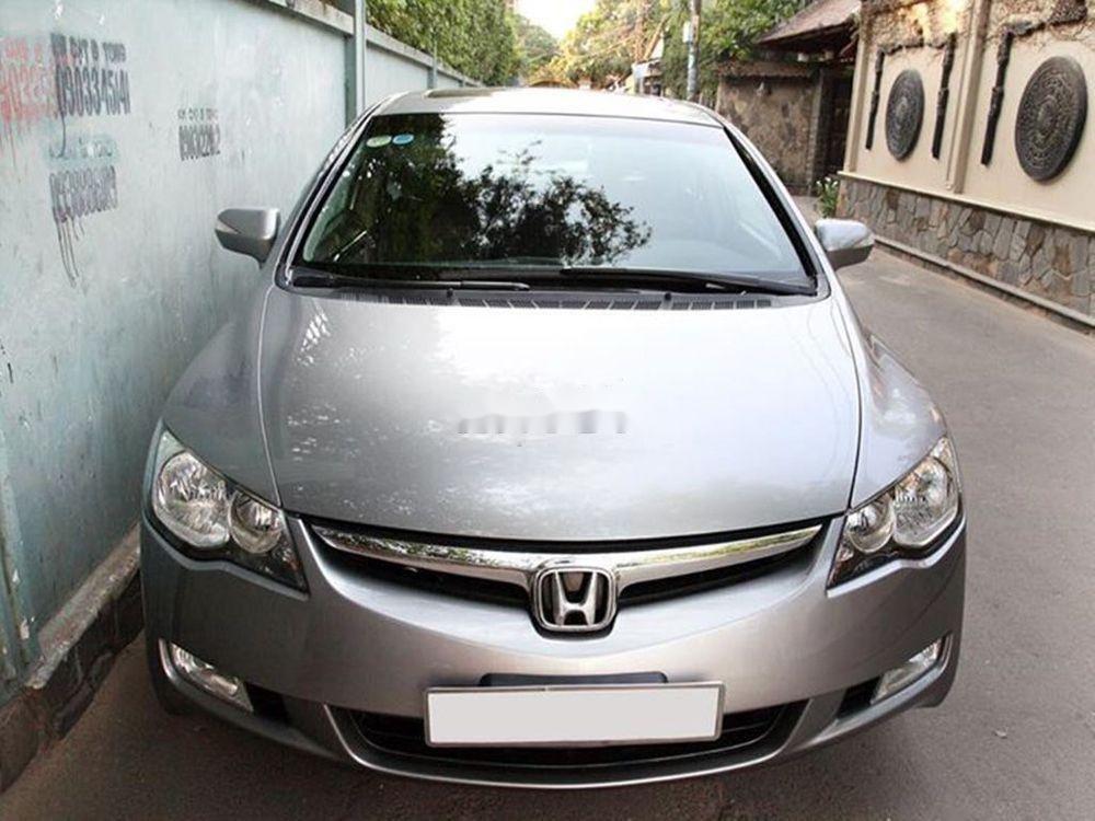 Bán Honda Civic đời 2008, màu xám chính chủ xe nguyên bản (1)