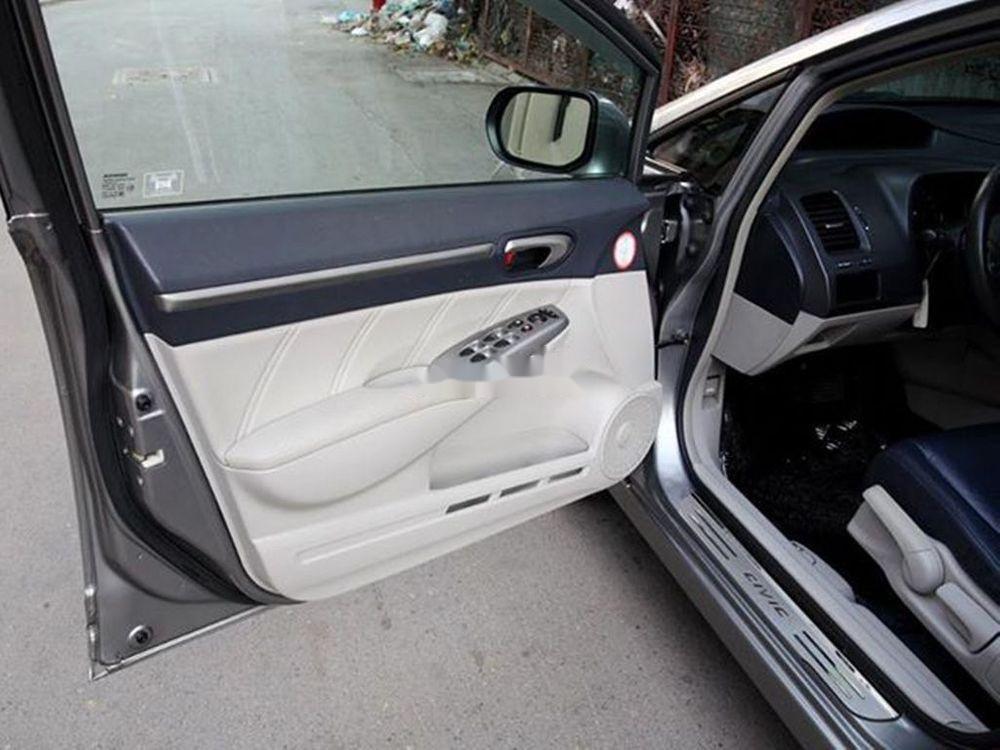 Bán Honda Civic đời 2008, màu xám chính chủ xe nguyên bản (8)