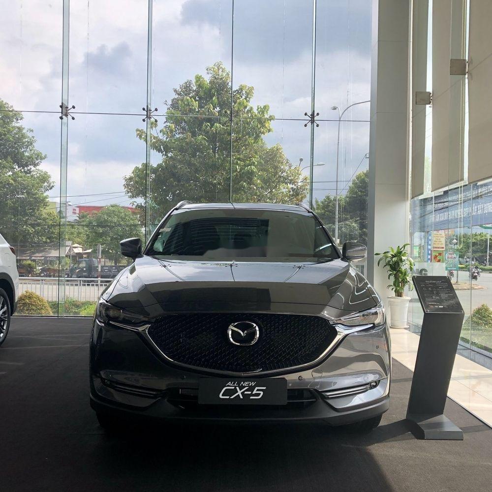 Bán Mazda CX 5 sản xuất năm 2019, màu xám, giá 340tr (1)