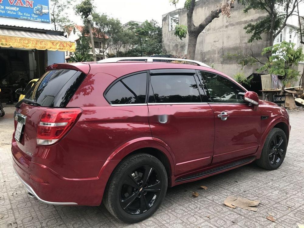 Bán Chevrolet Captiva sản xuất 2017, màu đỏ, 590 triệu (3)