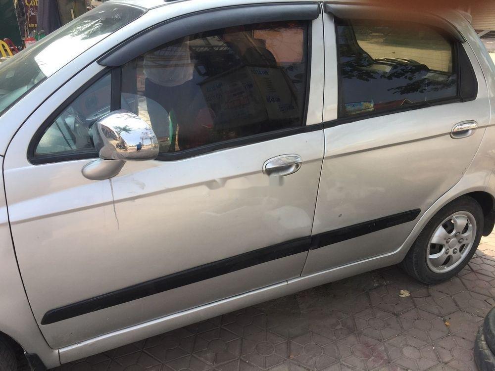 Cần bán lại xe Chevrolet Spark đời 2009, màu bạc xe nguyên bản (3)