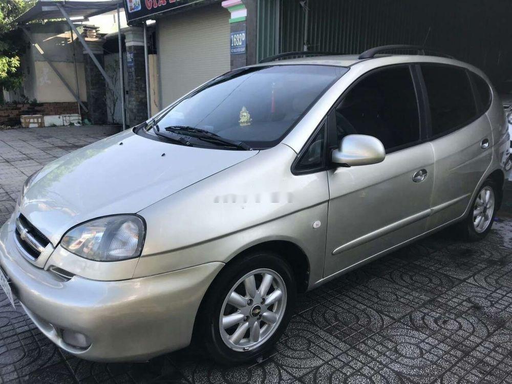 Cần bán xe Chevrolet Vivant năm sản xuất 2010, màu bạc (1)