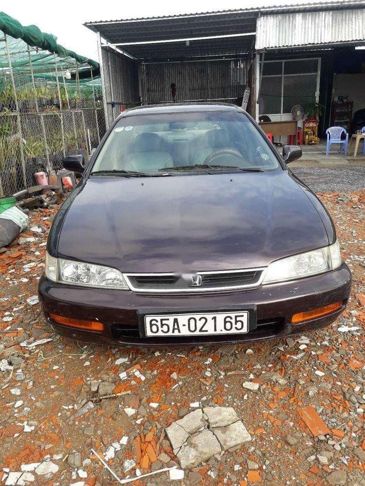 Cần bán Honda Accord 1994, màu đen, nhập khẩu, giá 115tr (1)