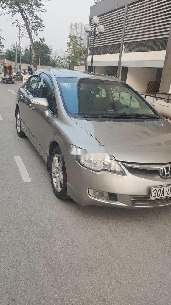 Cần bán gấp Honda Civic AT đời 2008, 328tr (1)