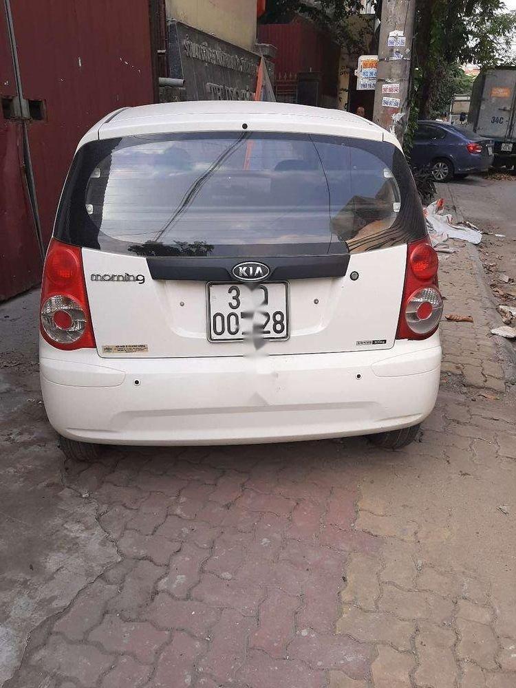 Cần bán Kia Morning năm sản xuất 2010, màu trắng, nhập khẩu  (2)