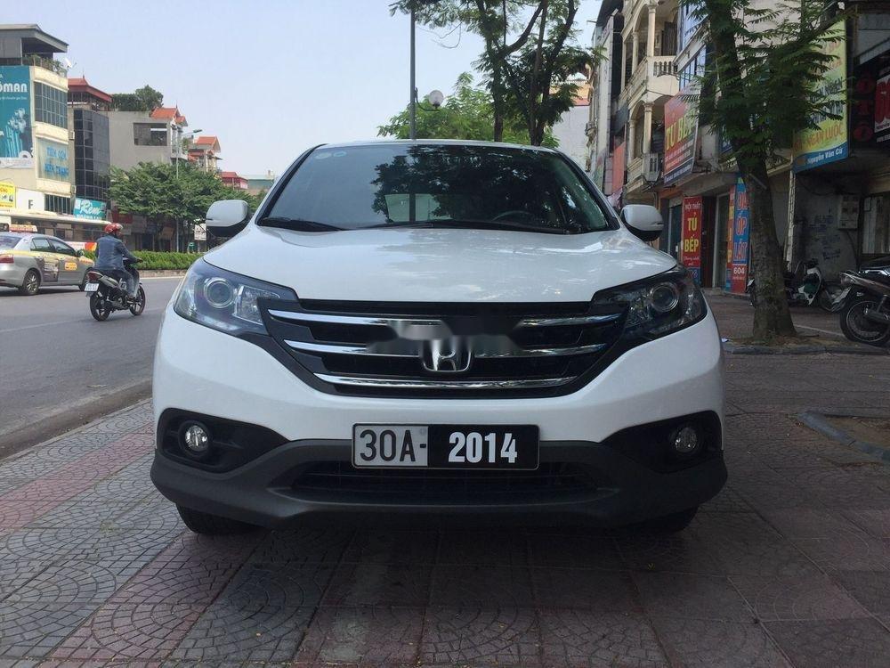 Bán Honda CR V năm sản xuất 2014, màu trắng, xe còn mới, giá 735tr (1)