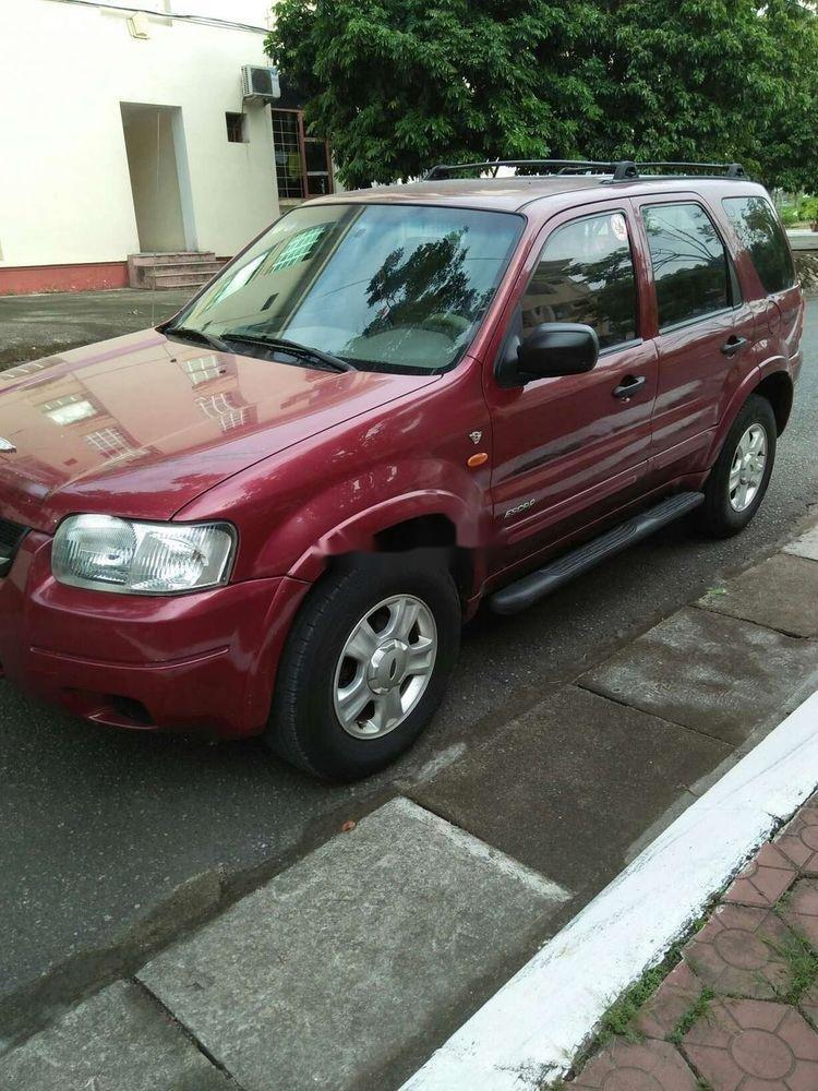 Bán Ford Escape đời 2002, màu đỏ, xe nhập chính hãng (5)