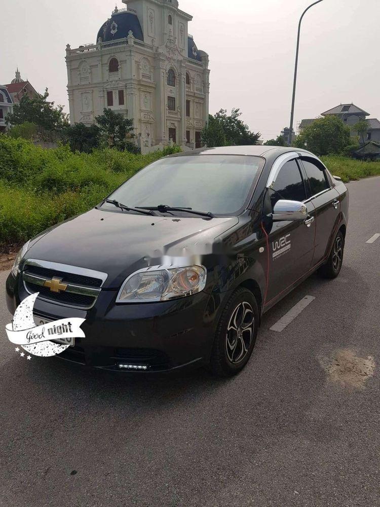 Bán Chevrolet Aveo sản xuất năm 2010, màu đen, xe nhập xe gia đình, 210tr xe nguyên bản (1)