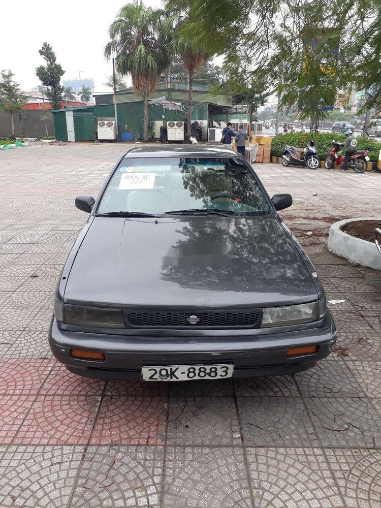 Bán Nissan Bluebird sản xuất 1991, màu xám, nhập khẩu (4)