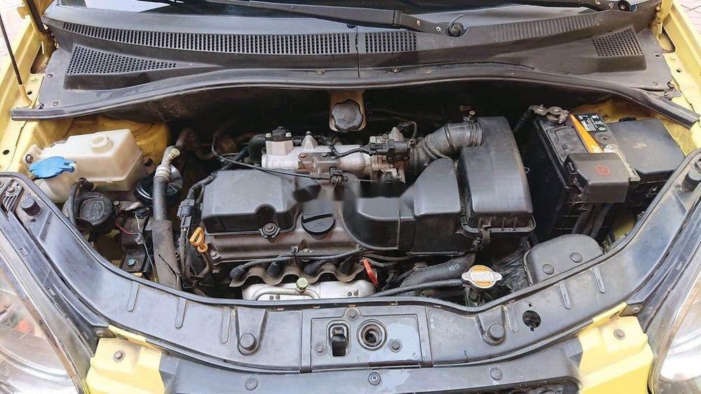 Bán ô tô Kia Morning năm sản xuất 2008, màu vàng, xe nhập chính hãng (7)