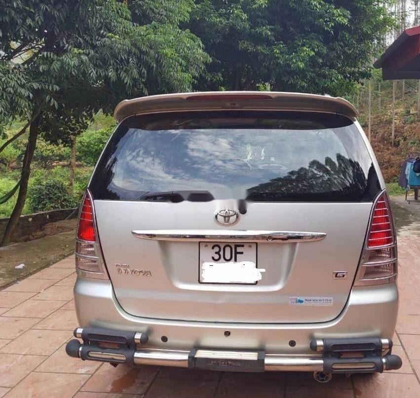 Bán ô tô Toyota Innova 2007, màu bạc giá cả hợp lý (4)