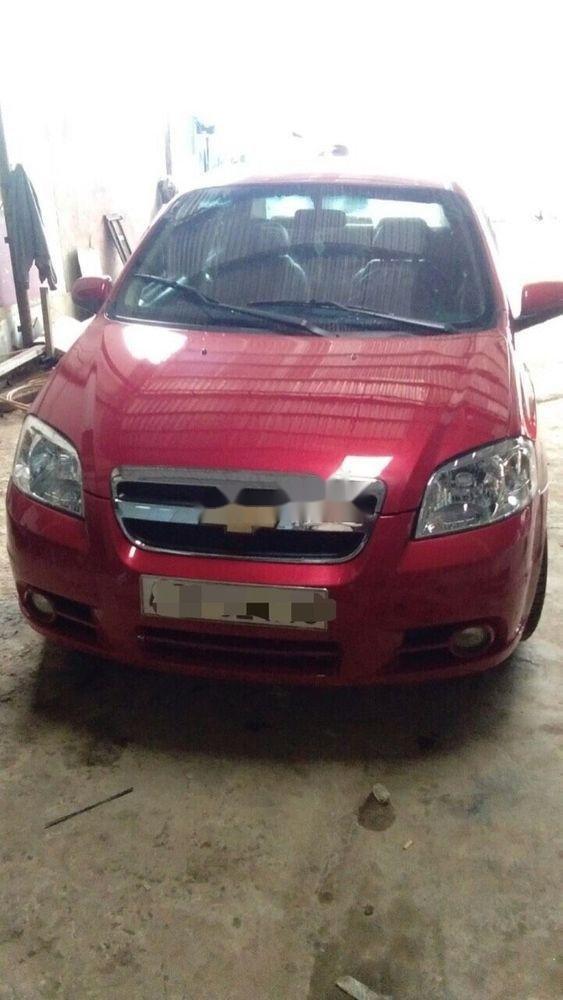 Bán xe Chevrolet Aveo sản xuất 2012, màu đỏ, giá tốt (1)