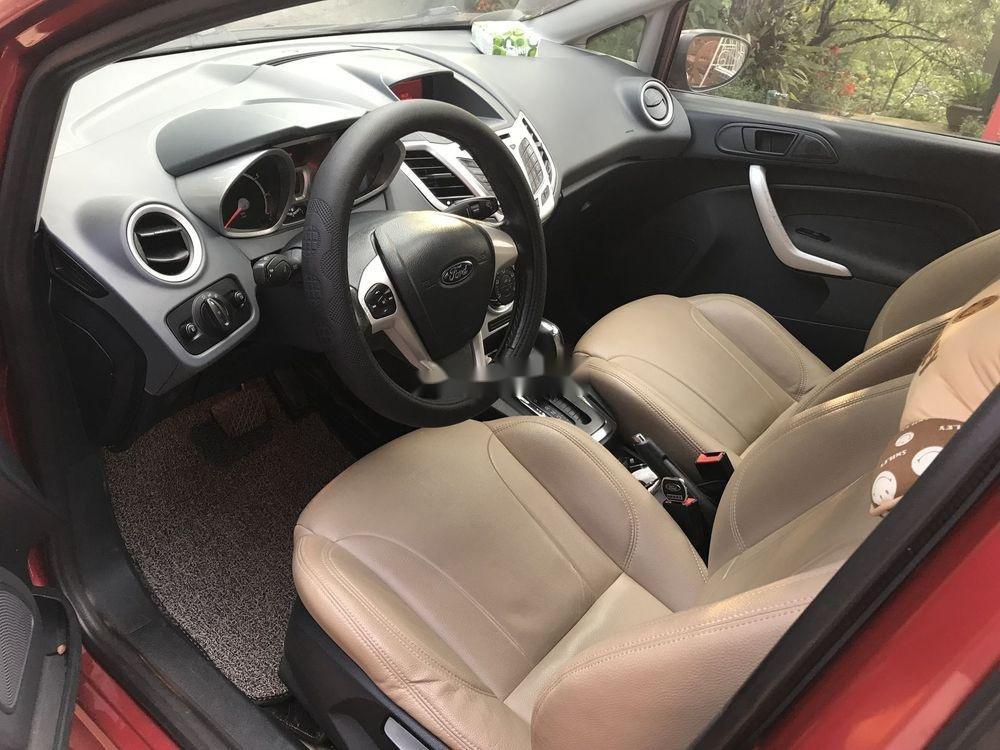 Cần bán Ford Fiesta 1.6AT năm sản xuất 2013, màu đỏ, giá 350tr (7)
