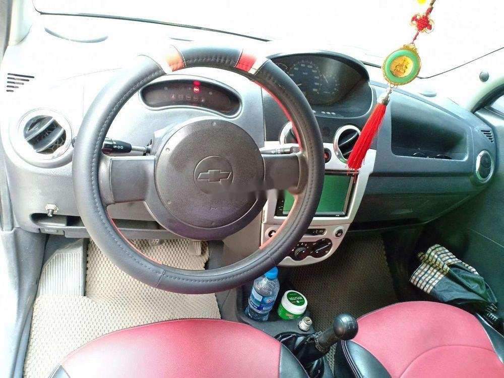 Cần bán lại xe Chevrolet Spark năm 2009, màu bạc xe nguyên bản (3)