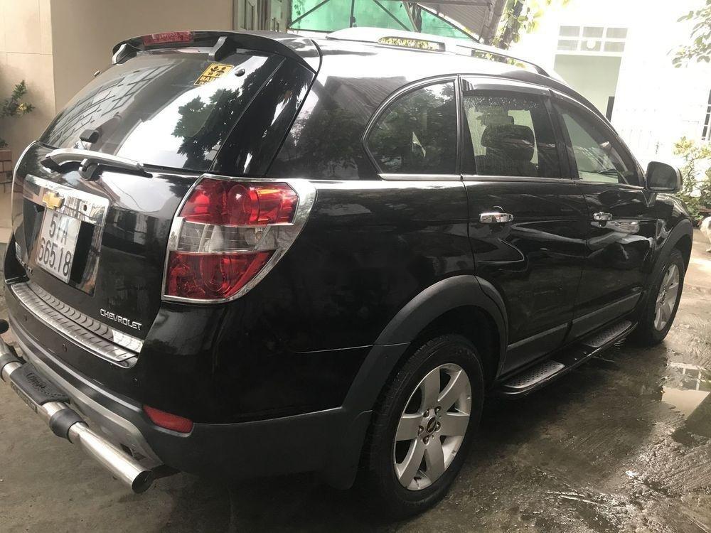 Bán Chevrolet Captiva sản xuất 2007, màu đen xe gia đình, giá 259tr (3)
