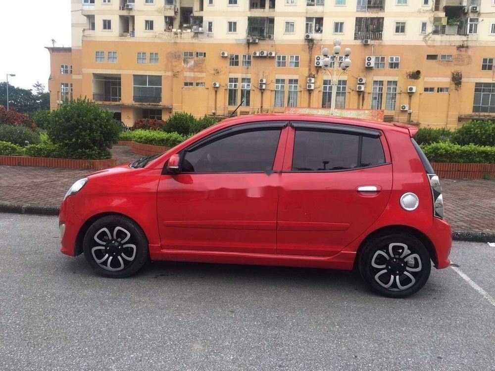 Cần bán lại xe Kia Morning AT sản xuất năm 2010, màu đỏ, nhập khẩu, giá tốt (1)