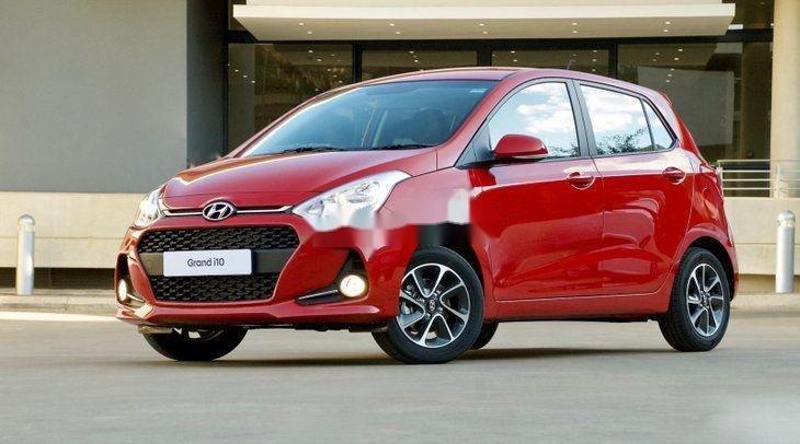 Bán Hyundai Grand i10 năm sản xuất 2019, màu đỏ, số sàn (4)