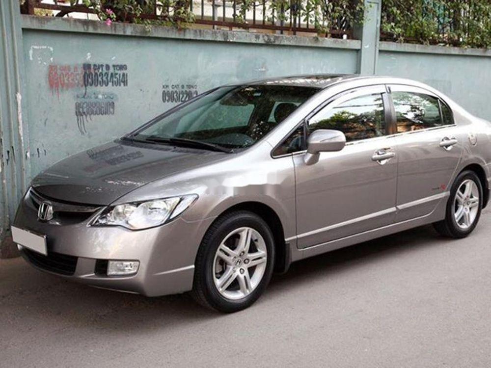 Bán Honda Civic đời 2008, màu xám chính chủ xe nguyên bản (2)